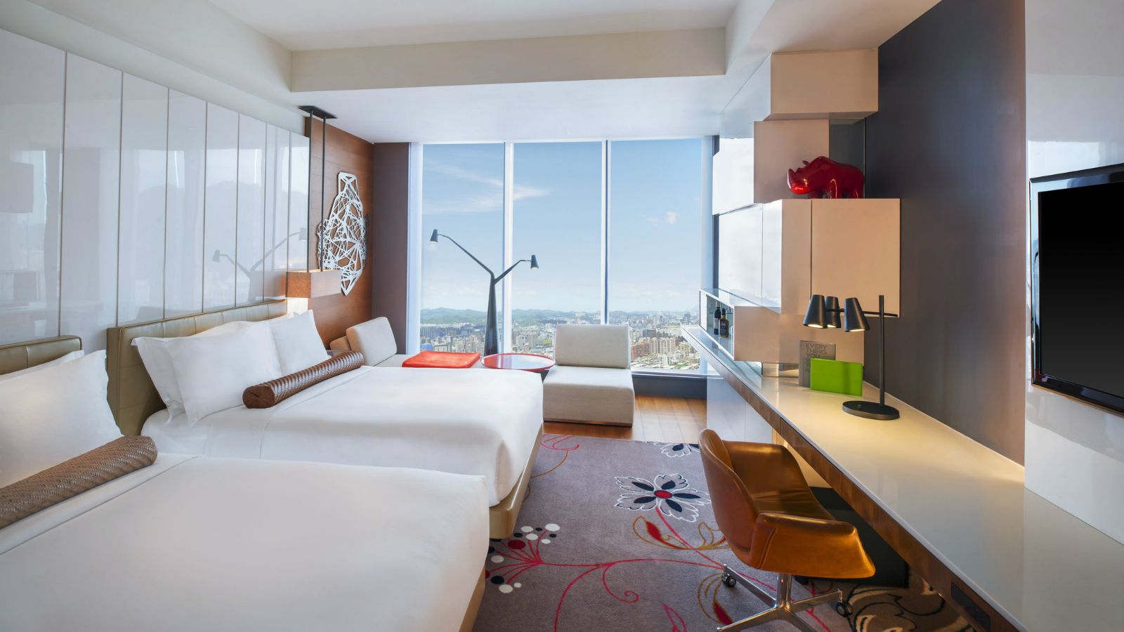 W taipei 5 star luxury hotel best rates guaranteed for Design hotel taipei